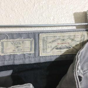 All Saints Pants - AllSaints volt chino pants